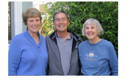 photo of cordell expeditions team members Don and Elaine Dvorak and Sue Estey