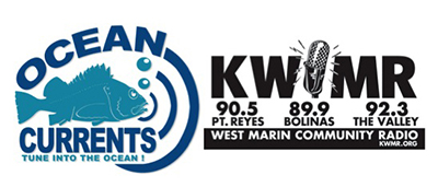 ocean currents and KWMR logos