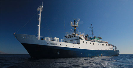 photo of the e/v nautilus